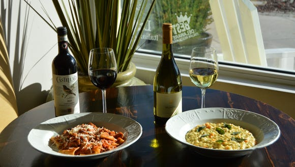 """The right wine can complement and enhance a dish's"