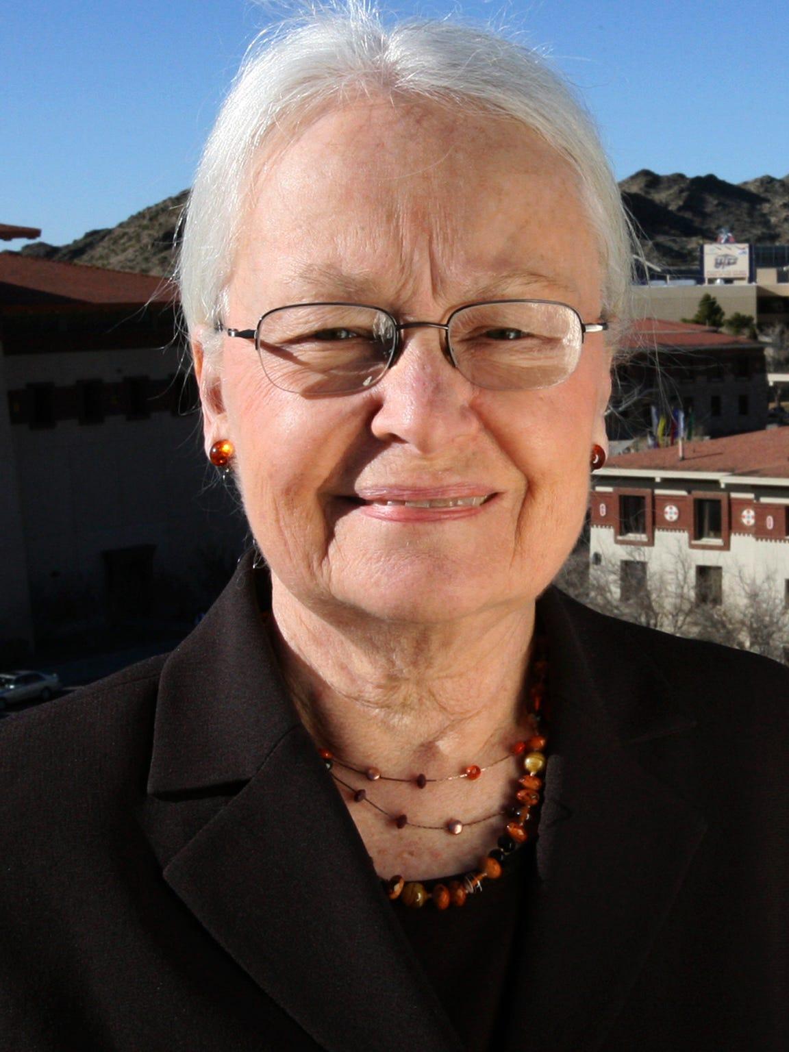 University of Texas at El Paso President Diana Natalicio has led the university since 1988.