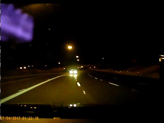 Wrong-way driver