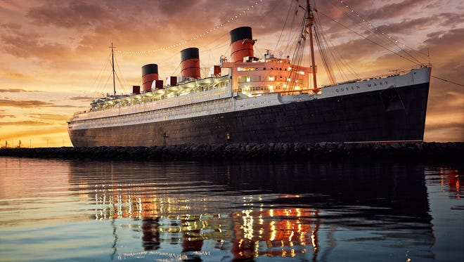 Cunard's original Queen Mary, which survives as a hotel and museum in Long Beach, Calif.