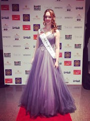 Morley backstage at the 2016 Rose of Tralee International