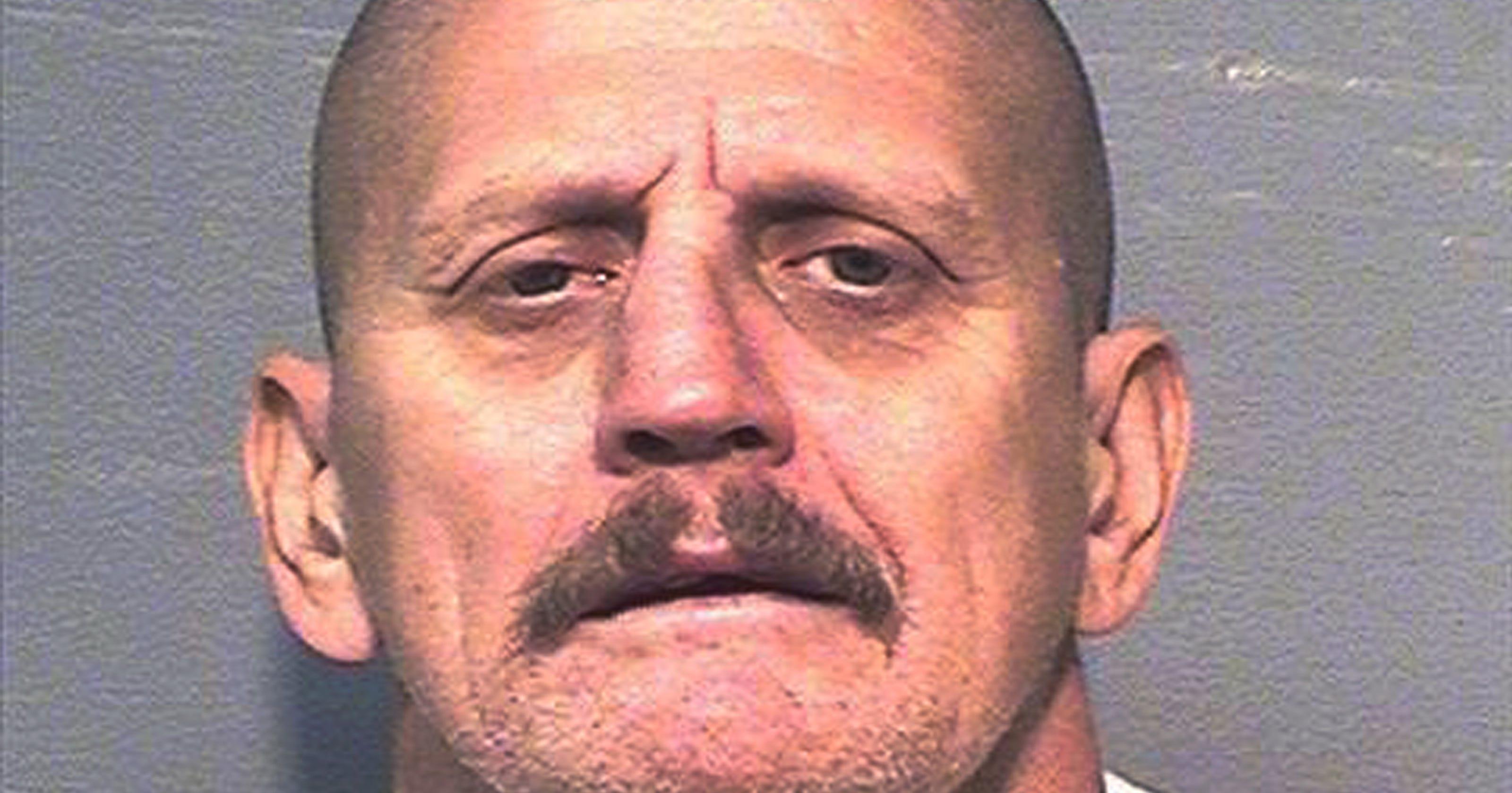 Prisoner slain in California was white supremacist leader
