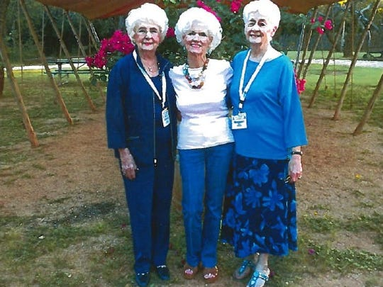 Millie Lawrence, of Sweetwater, and Marilyn Tate and Margaret Mitchell, both of Abilene, met on Sept. 23 at Perini Ranch Steakhouse in Buffalo Gap in advance of the 1951 Abilene High School class reunion.