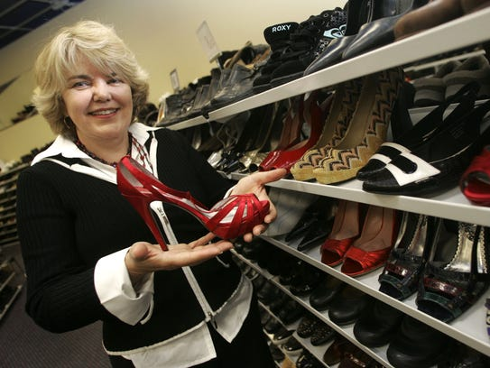 Judy Beaty, owner of Marti & Liz Shoes