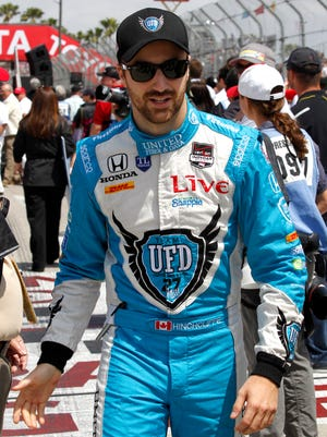 James Hinchcliffe drove for Andretti Autosport for three seasons, from 2012-14.