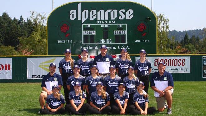 The Central Iowa Little League team.