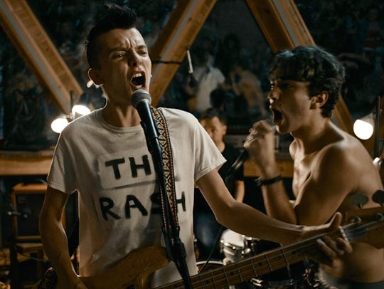 "Asa Butterfield (right) and Alex Wolff in ""The House"