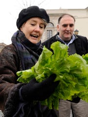 In this Jan. 18, 2009 file photo, Alice Waters looks