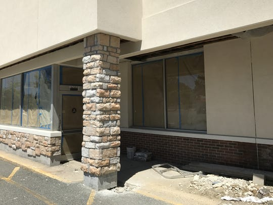 Work at Food Emporium on Newman Springs Road has been