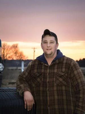 Manitowoc Lincoln High School senior Joe Powalisz works at Meadowbrook Dairy farm near Francis Creek more than 30 hours per week as part of the Manitowoc County Youth Agriculture Apprenticeship program.