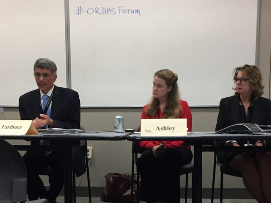 New DHS Director Fariborz Pakseresht, joined by Aging