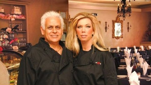 Amy and Samy Bouaglo from the notorious Amy's Baking Company in Scottsdale.