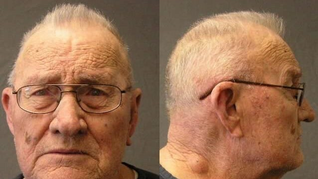 Prison photos of Frank Dryman taken in 2012. Dryman was re-captured in Arizona in 2010, after 38-years as a wanted fugitive.