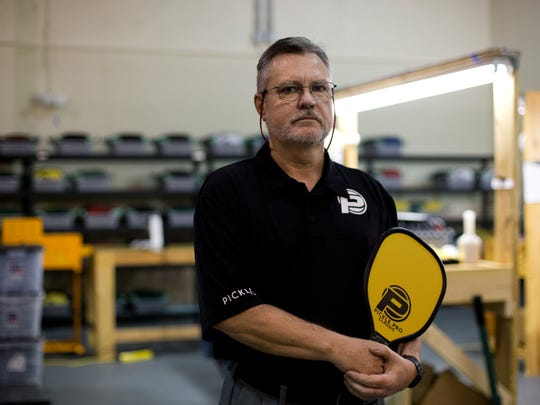 Tom Watson, operations manager for Pickle Pro in Naples, stands in its factory on Aug. 11, 2016.