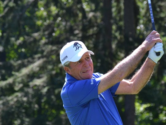 World Golf Hall of Famer Gary Player believes incentivizing junior golfers by subsidizing their greens fees will get more players on the local courses. The 81-year-old was at GlenArbor Golf Club in Bedford earlier this month for a charitable outing that raised $100,000 for his foundation.