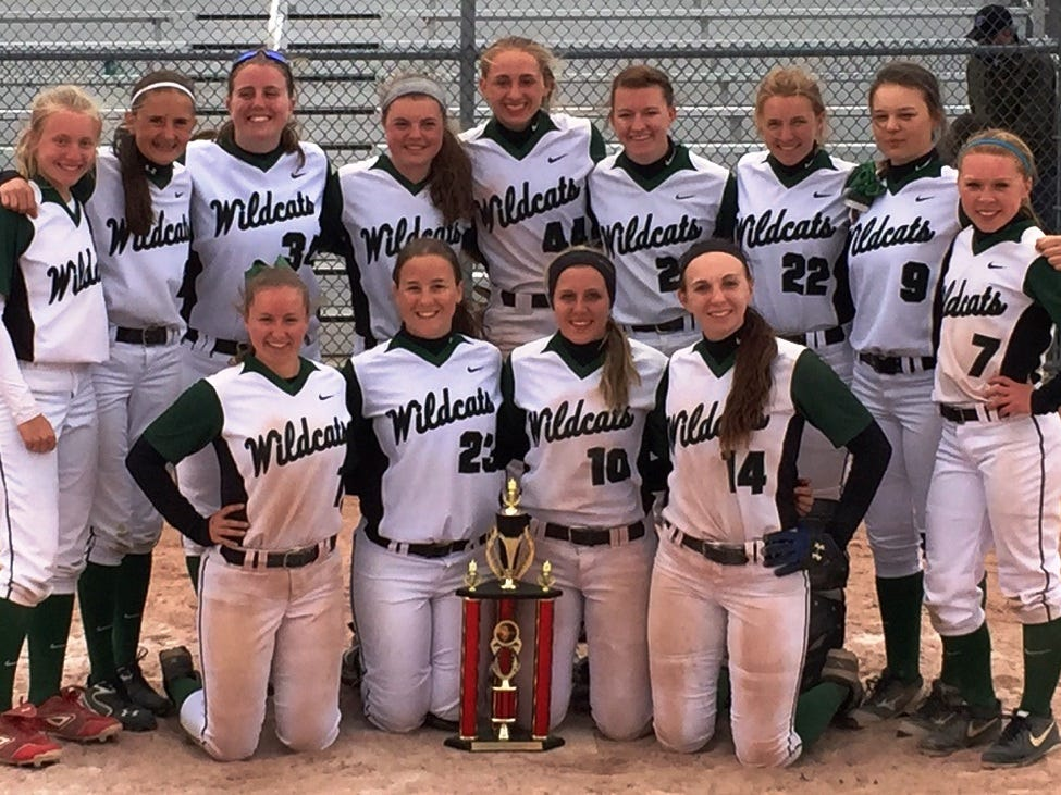 The Novi girls softball team reached the finals of the Anchor Bay Invitational before falling to Utica Eisenhower, 9-6.