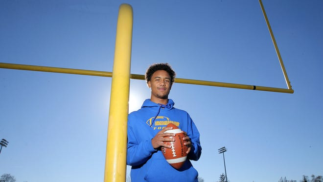 Irondequoit quarterback Freddy June Jr. was the 2017 All-Greater Rochester Player of the Year for football.