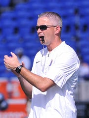 Memphis Tigers head coach Mike Norvell.