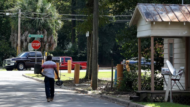 Dunn street in Frenchtown, where 62-year-old Viola Young was tased by a TPD officer in 2014.