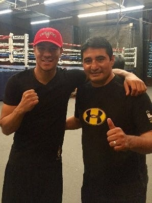 Jessie Vargas, left, and Erik Morales will be working together. (Photo handout)