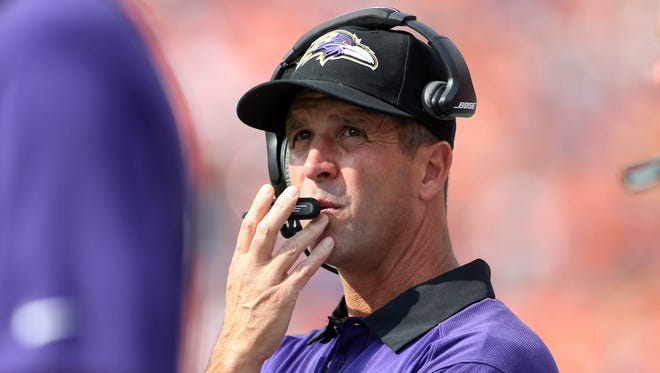 John Harbaugh's Baltimore Ravens squad is 0-2 as they welcome in the 2-0 Cincinnati Bengals this weekend.