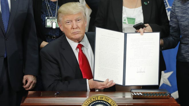 Given Trump's campaign pledges, the executive orders are neither outrageous nor unreasonable.
