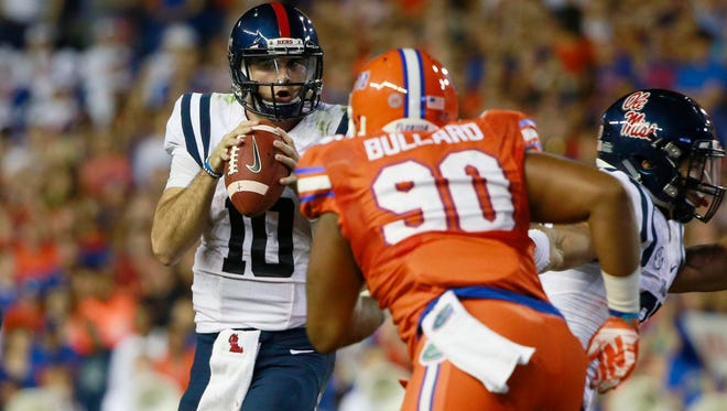 Mississippi quarterback Chad Kelly needs to have a big game for the Rebels to beat Texas A&M.