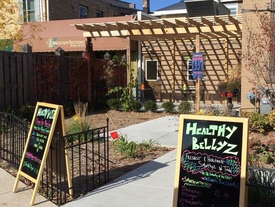 Healthy Bellyz is on Norbert Square in downtown De