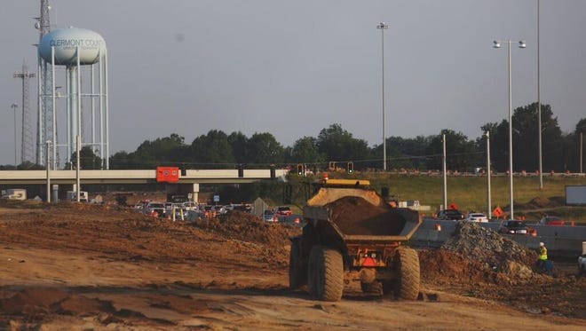 Several years ago road construction on the I-275 - Ohio 32 interchange snarled traffic in Clermont County.