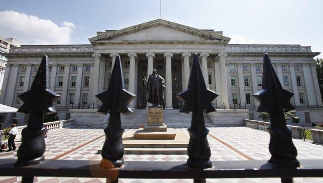 The Treasury Department.