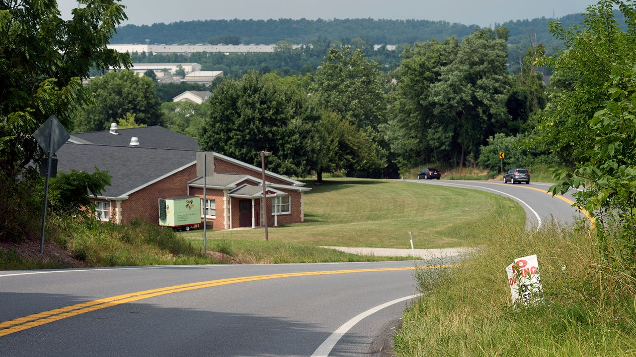 Take a ride on the roads around the perimeter of proposed warehouses in Newberry Township.