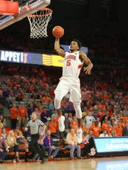 Clemson hosted High Point at Littlejohn Coliseum, Friday,