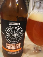 Cold Press Coffee Pumking by Southern Tier Brewing Co. of Lakewood, N.Y.