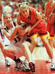 Former Iowa State basketball player Monica (Huelman)