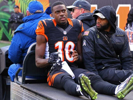 Sunday pain: A J  Green the worst of Week 11's damaging injuries