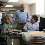 """Michael Fassbender stars as Steve Jobs in a scene from the film, """"Steve Jobs."""""""