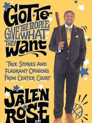 """Jalen Rose's book, """"Got To Give The People What They"""