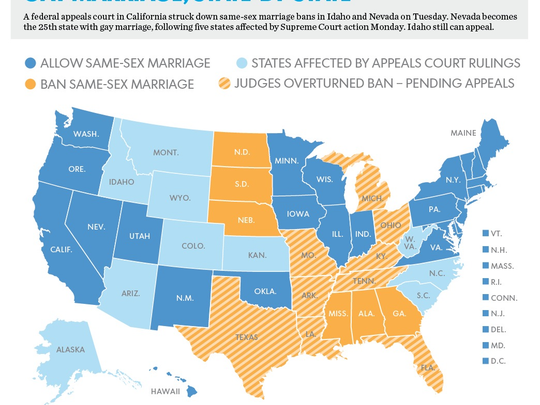 Update It S Still Uncertain When Gay Marriage Can Start In Nevada