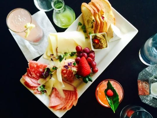 Start your meal with charcuterie and craft cocktails at dish Creative Cuisine in uptown Palm Springs.