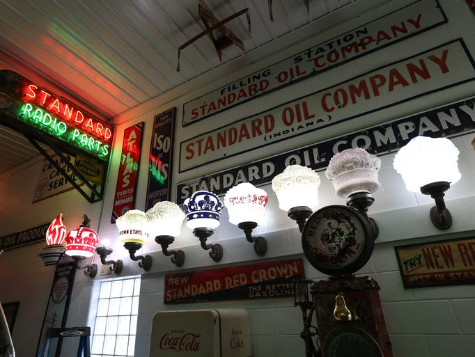 Gas Station History Coming Alive In Whiteland
