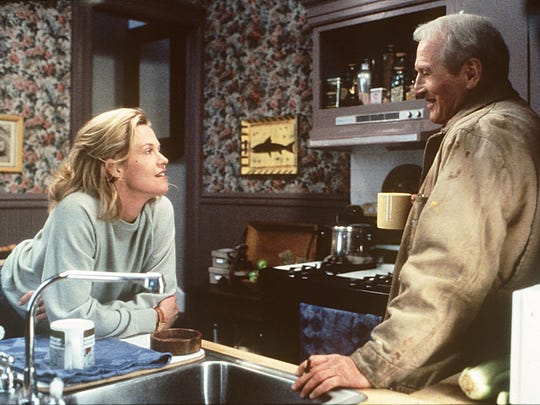 "Melanie Griffith and Paul Newman in the 1994 film,"" Nobody's Fool """