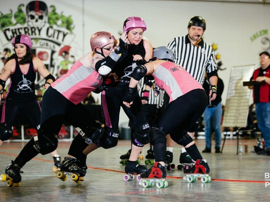 Cherry City Roller Derby hosts two nights of derby action to cap off its seventh season, Friday, May 20, and Saturday, May 21, at The Mad House.