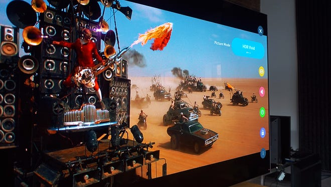 Mad Max is a great movie for distinguishing the differences between HDR10 and Dolby Vision.