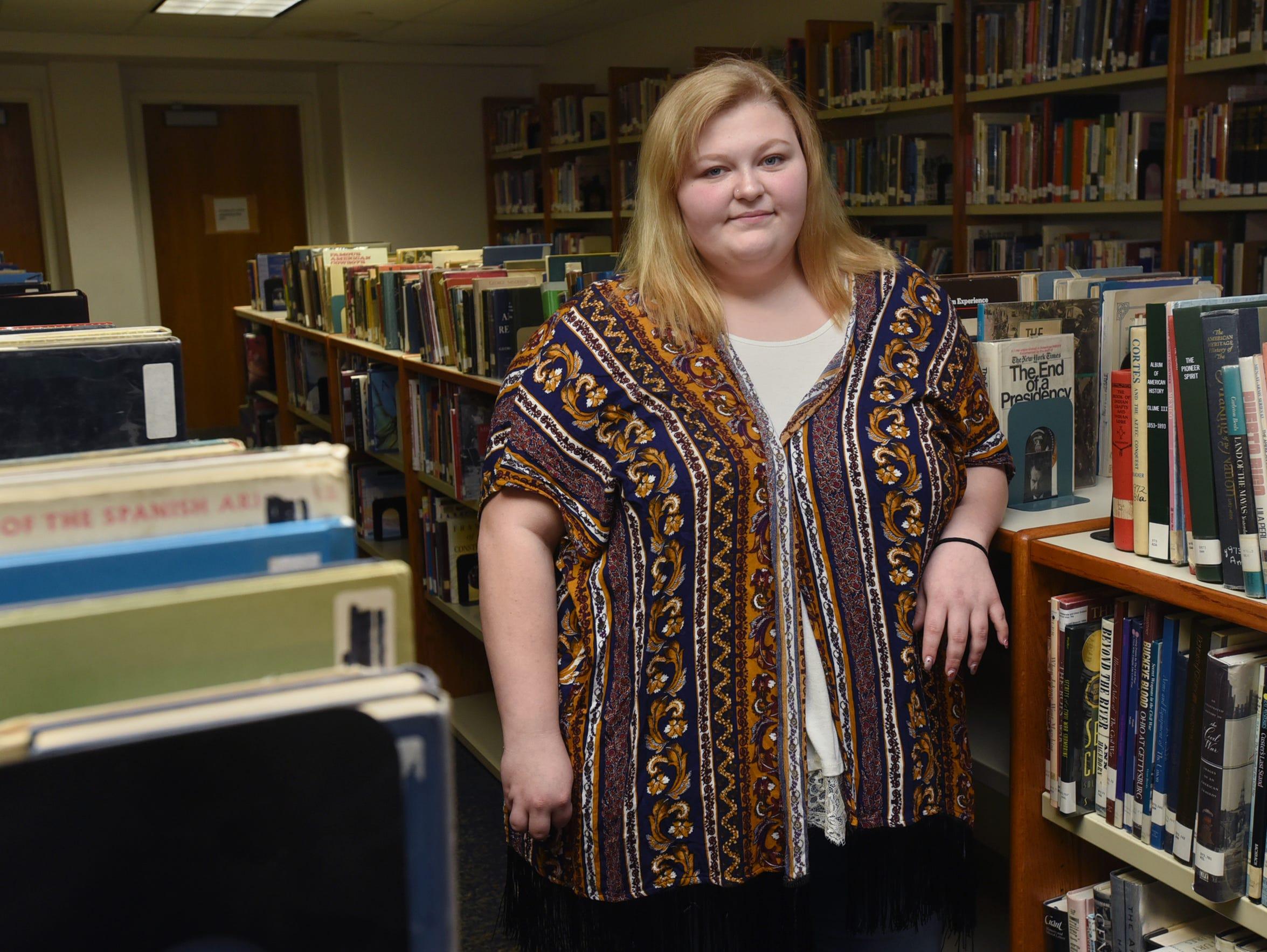 Caeley Blanton has parents who had addiction problems