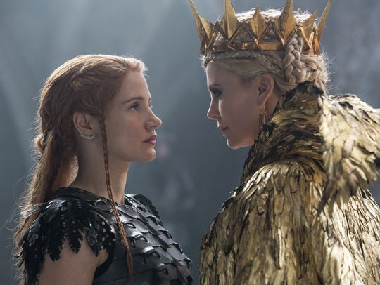 Jessica Chastain plays warrior Sara, who faces off