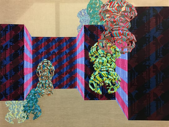 """Another part of Nathan Wasserbauer's """"Panoramix Coda"""