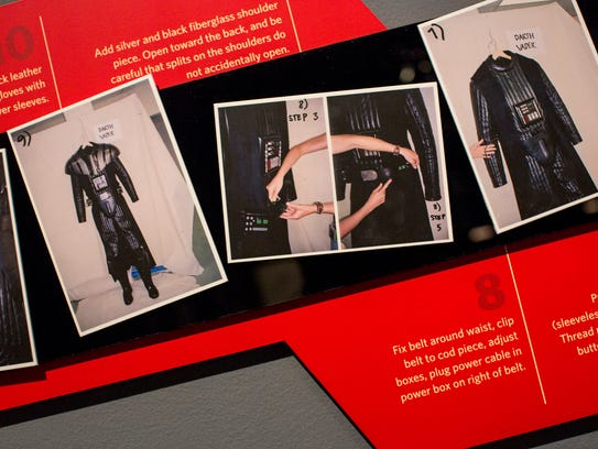 Detailed directions for dressing Darth Vader can be