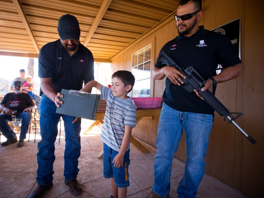 081616 New Mexico Desert Dogs AR-15 Raffle for Jose Chavez Family 1