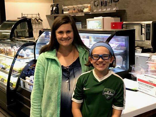 Sophia Wygonik, 16 (left) and Chloe Wygonik, 10 like