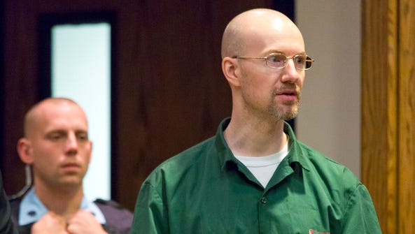 David Sweat, right, pleads guilty in November 2015